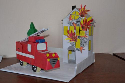 поделки на тему пожарная безопасность для детского сада 8