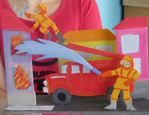поделки на тему пожарная безопасность для детского сада 6