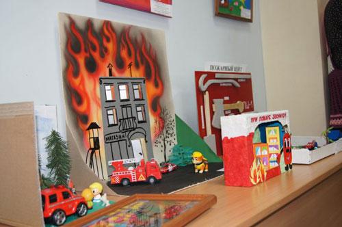 поделки на тему пожарная безопасность для детского сада 3