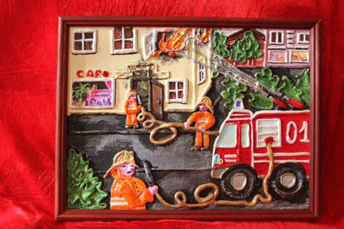 поделки на тему пожарная безопасность для детского сада 2
