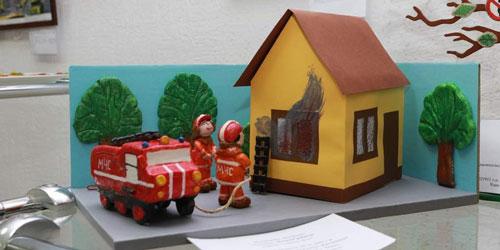 поделки на тему пожарная безопасность для детского сада