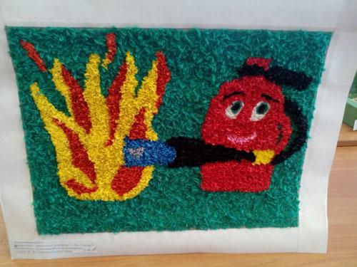 творческая работа на тему пожарная безопасность поделки 6