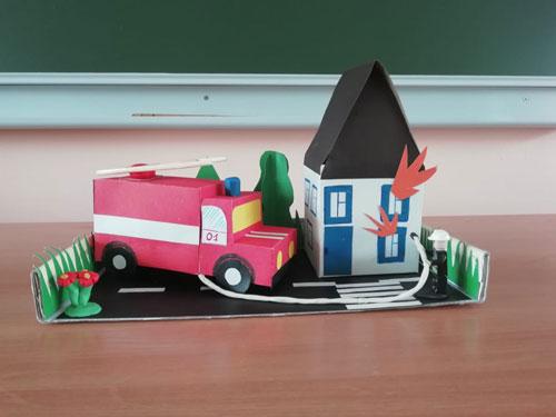 поделка на тему пожарная безопасность в школу 5
