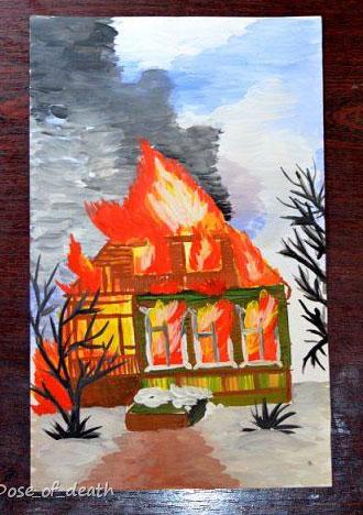 поделка на тему пожарная безопасность дома 2