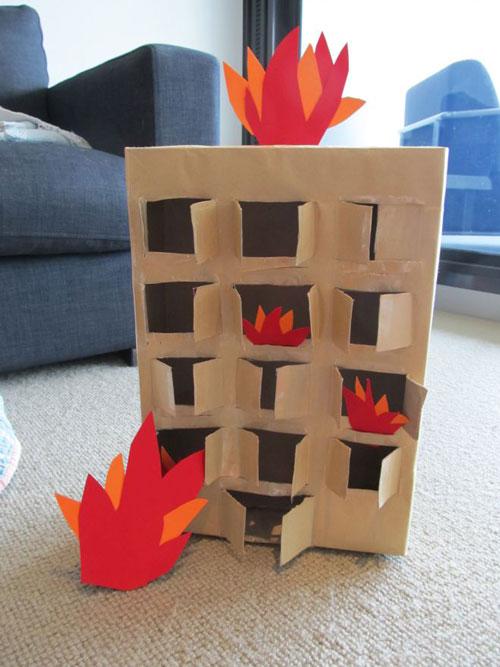 поделка на тему пожарная безопасность в школу 3
