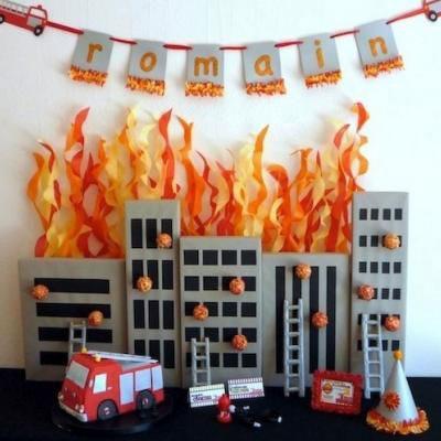 легкая поделка на тему пожарная безопасность