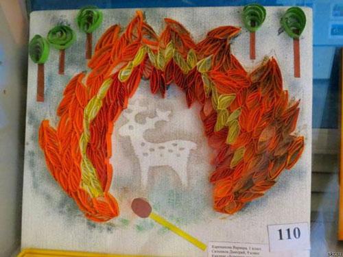 поделки рисунки на тему пожарная безопасность 7