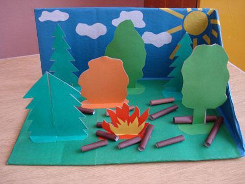 поделки рисунки на тему пожарная безопасность 6