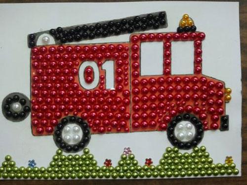 поделки рисунки на тему пожарная безопасность