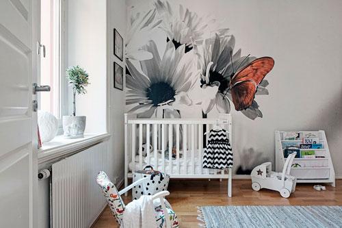 скандинавский стиль в интерьере детской комнаты 10