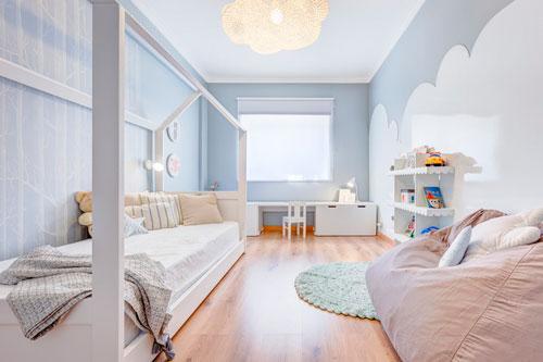 скандинавский стиль в интерьере детской комнаты 4