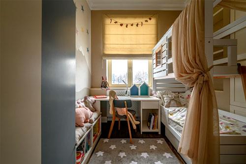 скандинавский стиль в интерьере детской комнаты 6