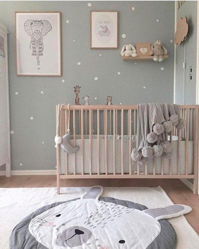 скандинавский стиль в интерьере детской комнаты 7