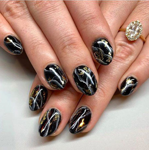 тенденции осеннего дизайна ногтей с фото 9