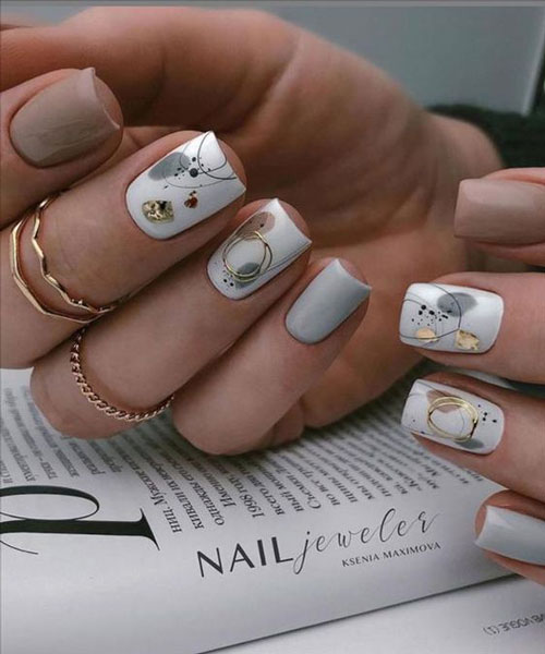 осенний дизайн ногтей 9