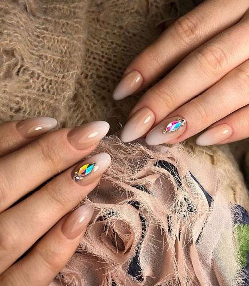 тенденции осеннего дизайна ногтей с фото 7
