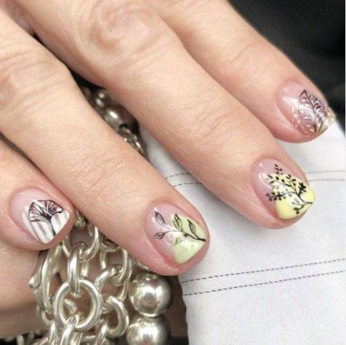 тенденции осеннего дизайна ногтей с фото 6