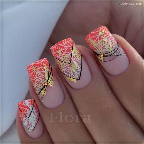 тенденции осеннего дизайна ногтей с фото 5