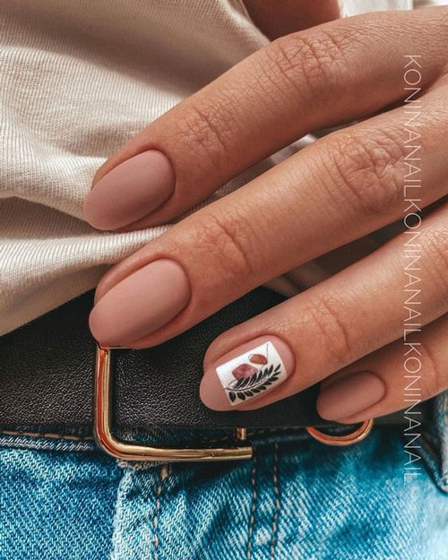 тенденции осеннего дизайна ногтей с фото 4