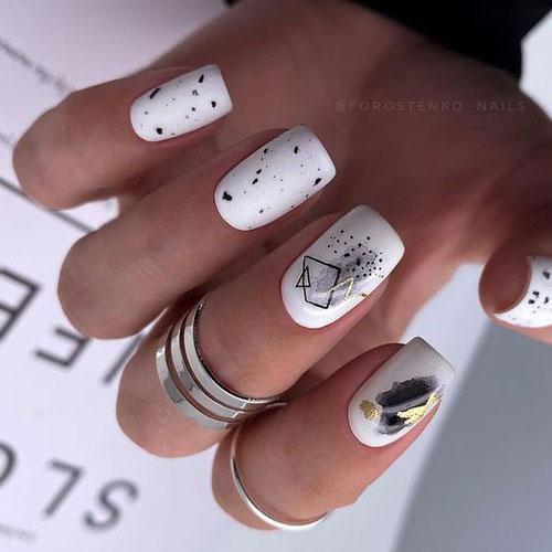 тенденции осеннего дизайна ногтей с фото 2