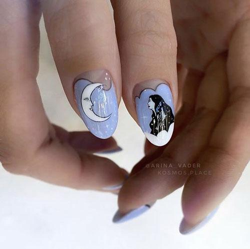 красивые ногти дизайн 2021 фото новинки осень