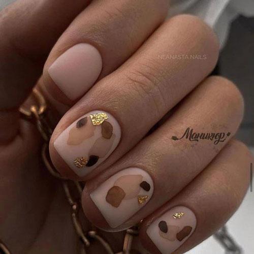 осенний дизайн ногтей 7