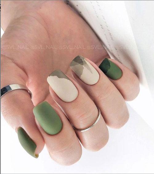 осенний дизайн ногтей 5