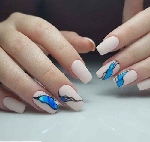 осенний дизайн ногтей с фото 8
