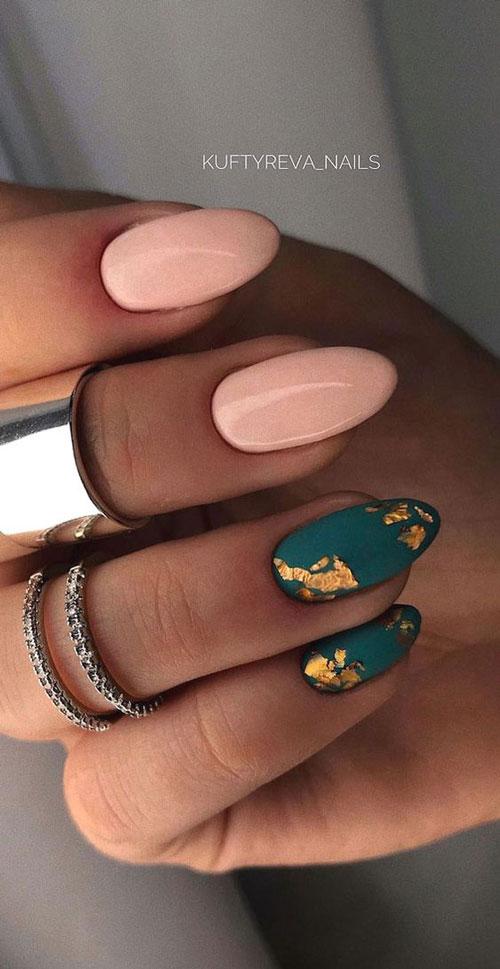 осенний дизайн ногтей с фото 7