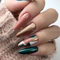 осенний дизайн ногтей с фото 5