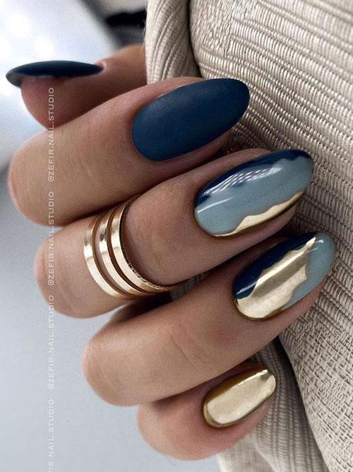 осенний дизайн ногтей с фото 4