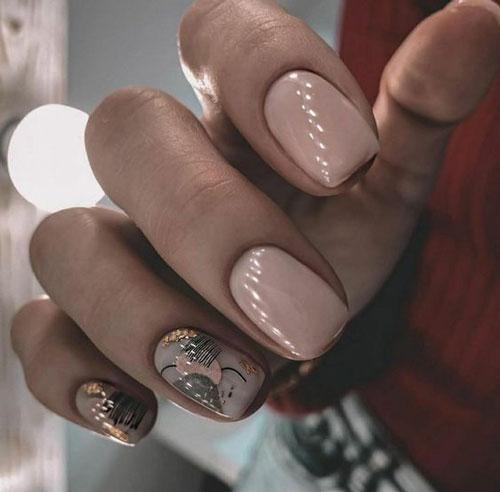 дизайн ногтей на осень 10
