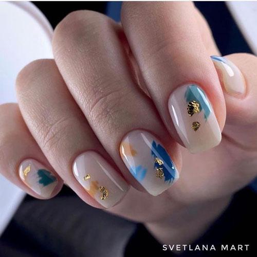 дизайн ногтей на осень 9