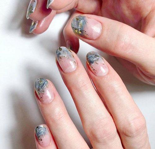 дизайн ногтей на осень 5