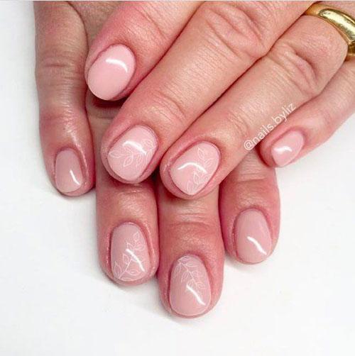 дизайн ногтей на осень 4