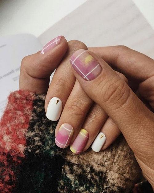 дизайн ногтей на осень 2