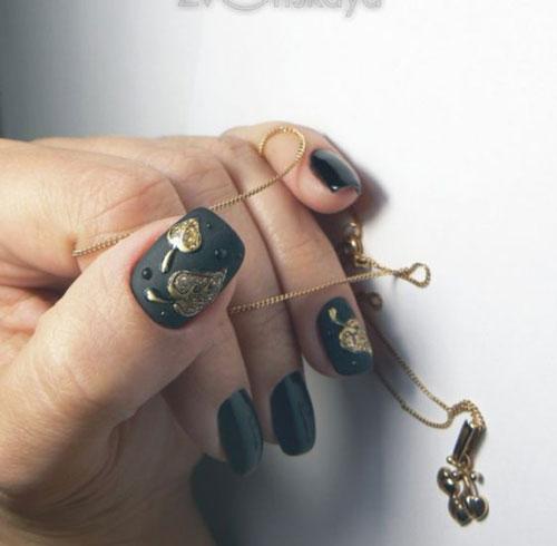 тенденции дизайна ногтей на осень фото 9