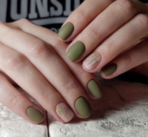 тенденции дизайна ногтей на осень фото 7