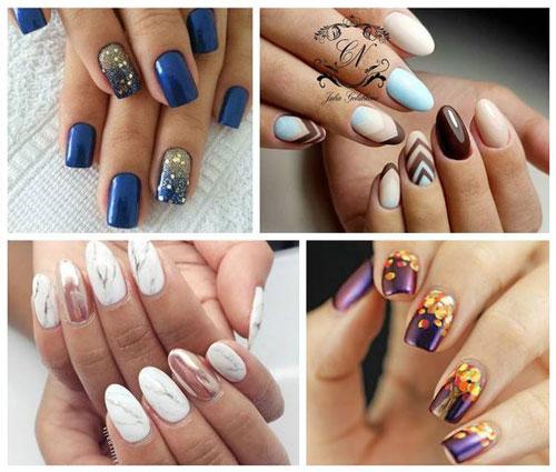тенденции дизайна ногтей на осень фото 4