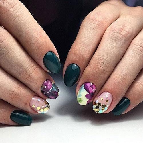 фото дизайна ногтей осень 2020