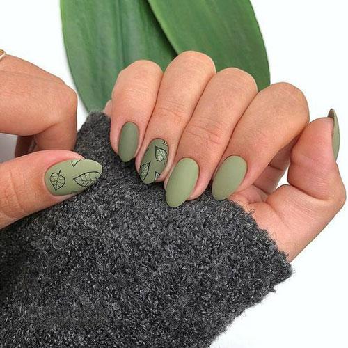 шеллак дизайн ногтей новинки фото осень