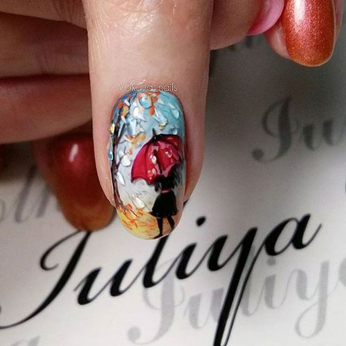 дизайн ногтей осень 2020 фото новинки