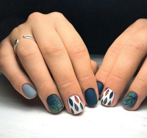 тенденции осеннего дизайна ногтей с фото 10