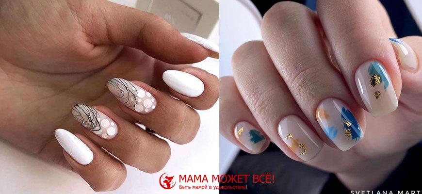 тенденции осеннего дизайна ногтей с фото этого года