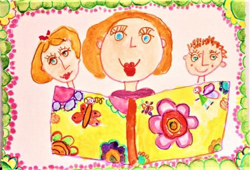 Что делают в День матери дети