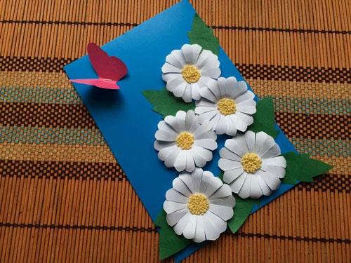поделки из бумаги к Дню Матери 2