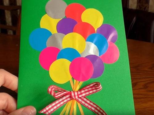 поделки из бумаги к дню матери в детском саду подготовительная группа 3