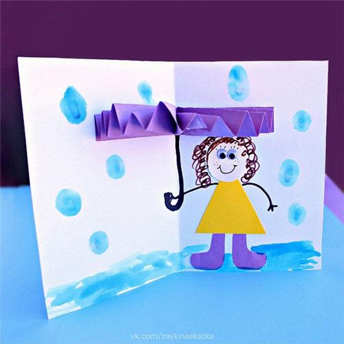 поделки из бумаги к дню матери в детском саду подготовительная группа 6