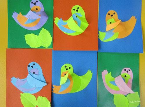 поделки из бумаги к дню матери в детском саду подготовительная группа 8