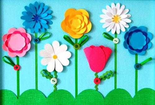 поделки ко Дню матери в детском саду подготовительная группа